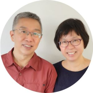 Sister Chiew Kwan and Brother Roy