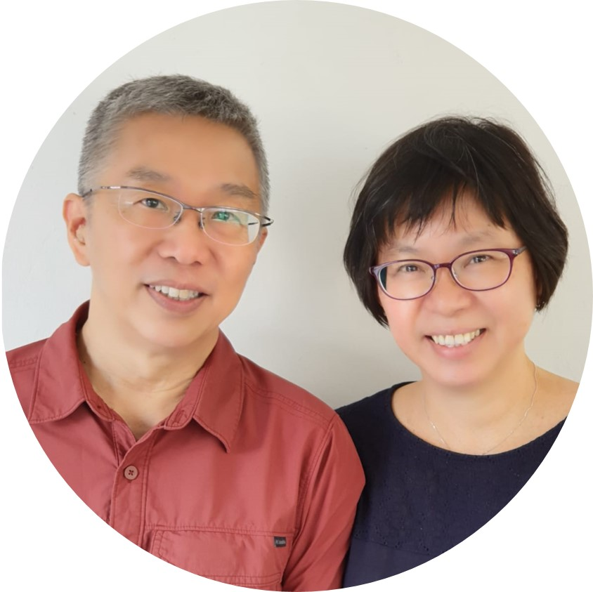 Sister Chiew Kwan and Brother Roy : Lecturer